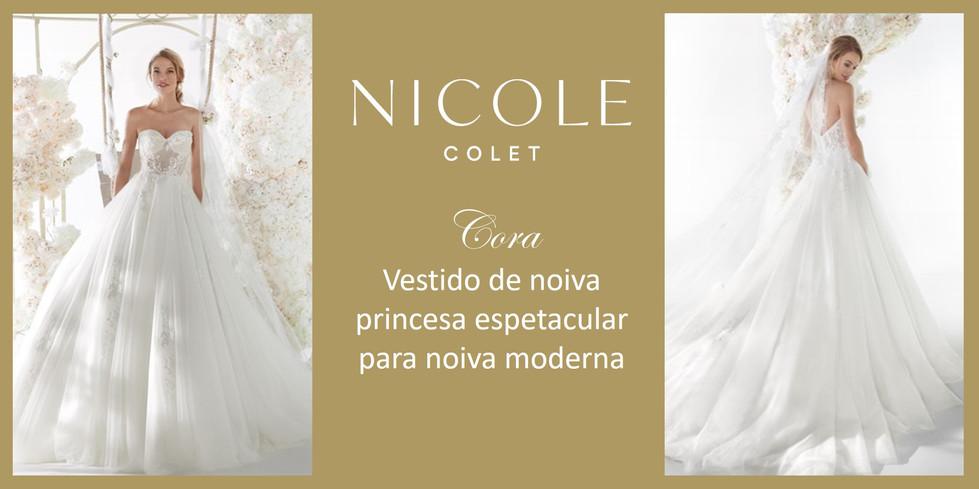 Cora da coleção Nicole Colet