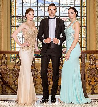 London Lady perfeito para eventos Black Tie