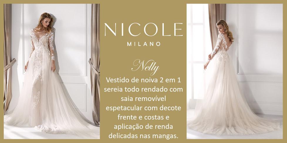 Nelly da coleção Nicole Milan
