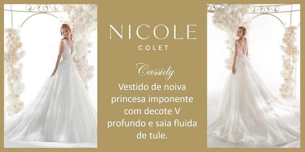 Cassidy da coleção Nicole Colet