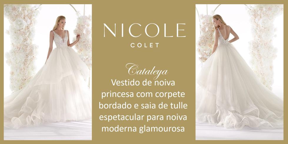 Cataleya da coleção Nicole Colet