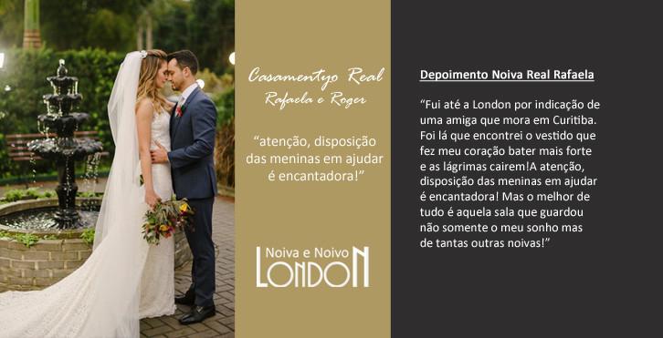 Casamento Real Rafaela e Roger