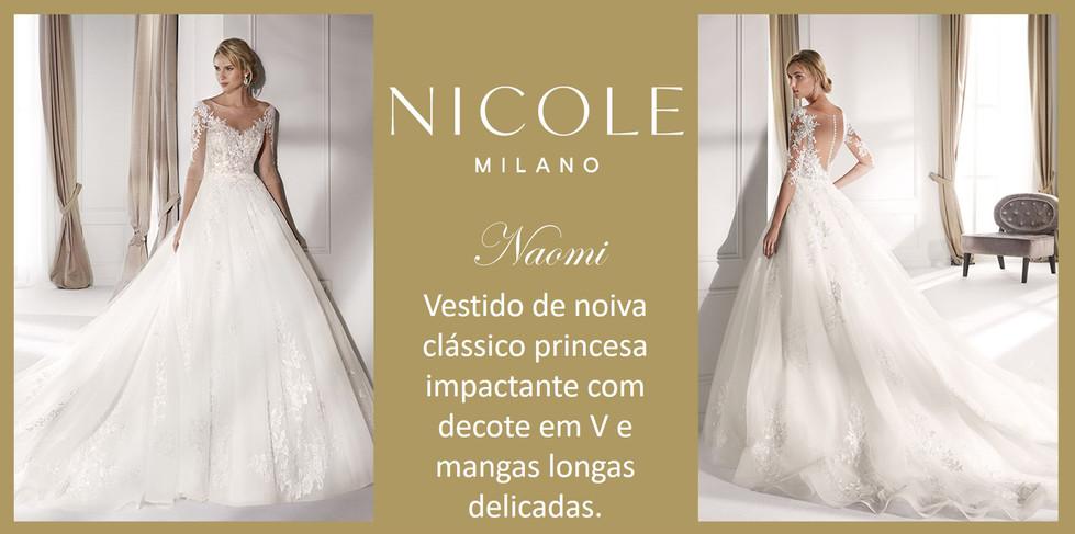 Naomi da coleção Nicole Milan