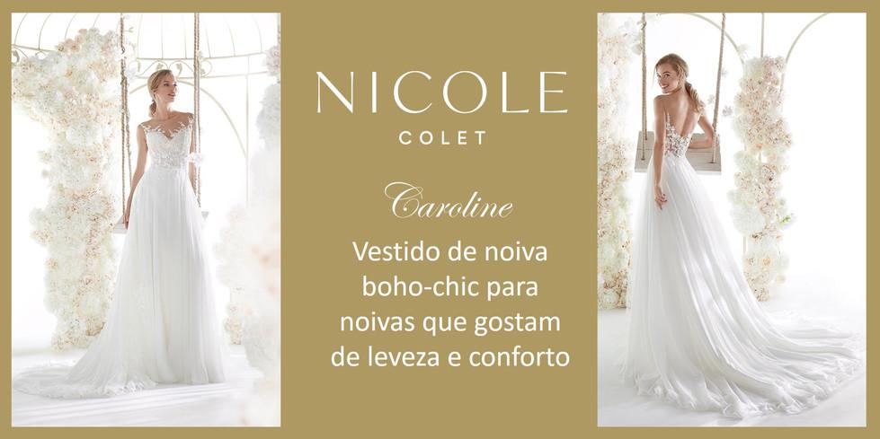 Caroline da coleção Nicole Colet