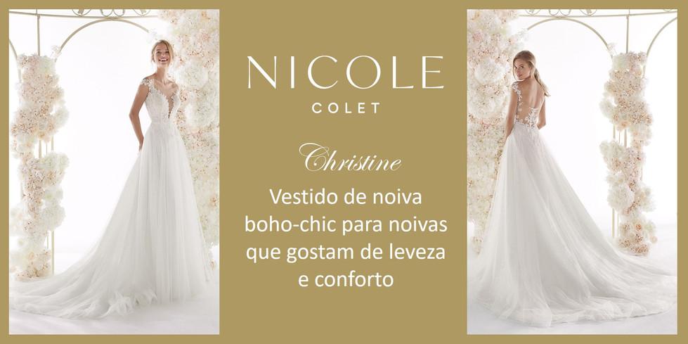 Christine da coleção Nicole Colet