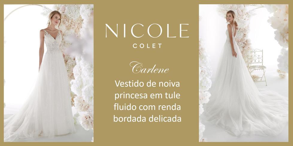 Carlene da coleção Nicole Colet