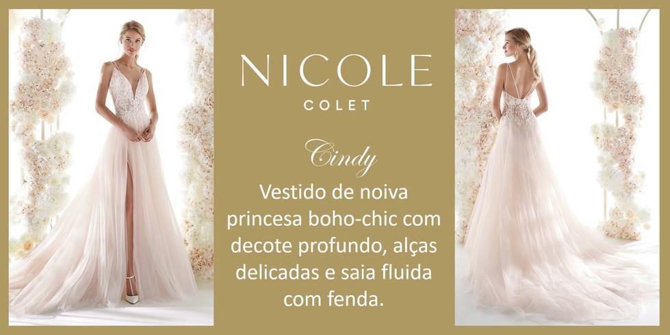 Cindy da coleção Nicole Colet