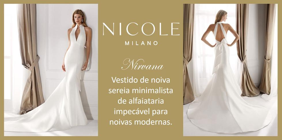 Nirvana da coleção Nicole Milan