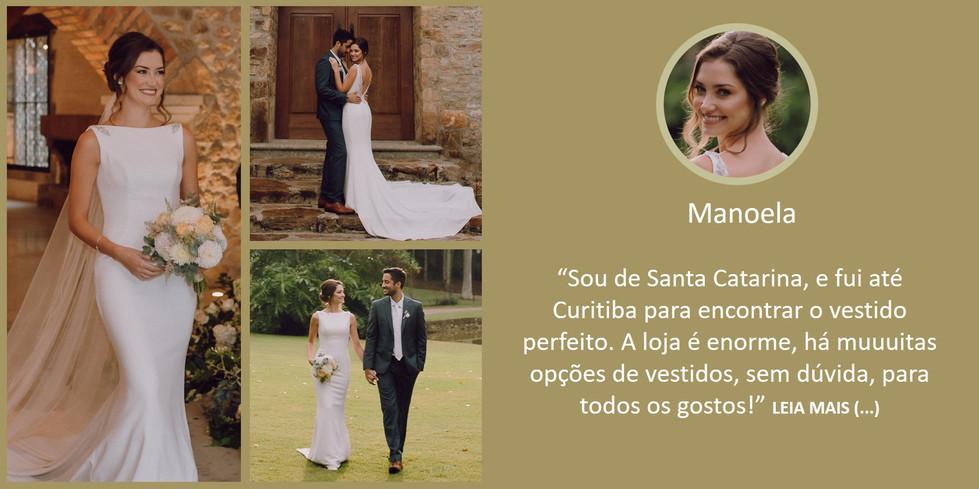 Depoimento Noiva Manoela