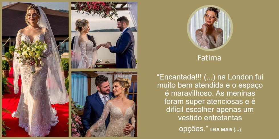 Depoimento Noiva Fatima