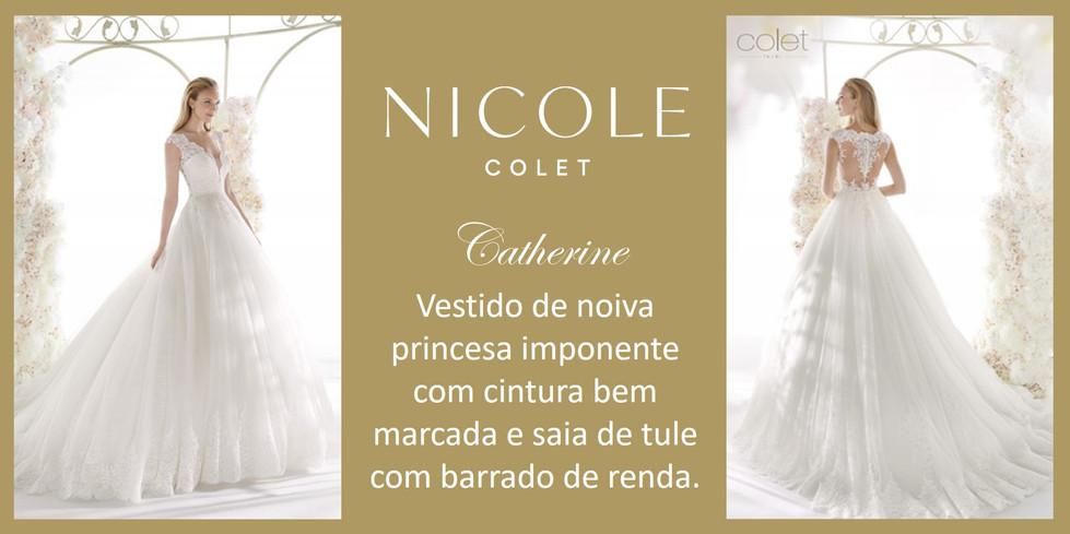 Catherine da coleção Nicole Colet