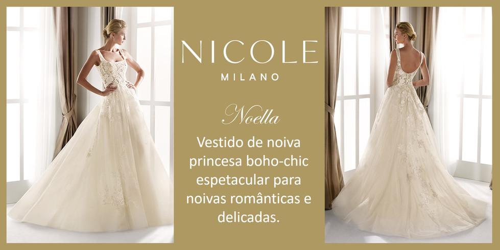 Noella da coleção Nicole Milan