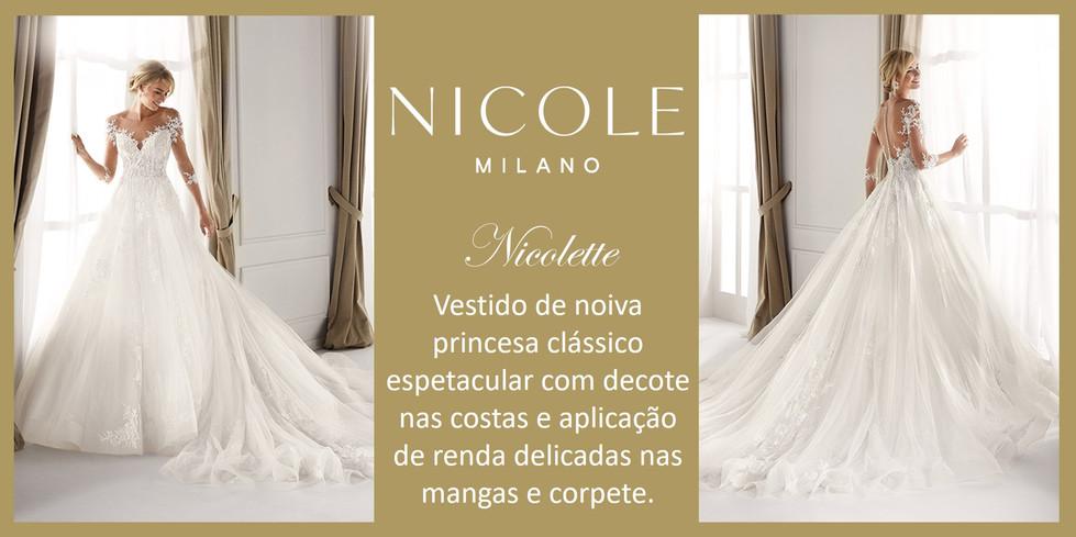 Nicolette da coleção Nicole Milan