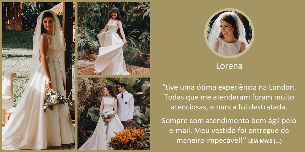 Depoimento Noiva Lorena