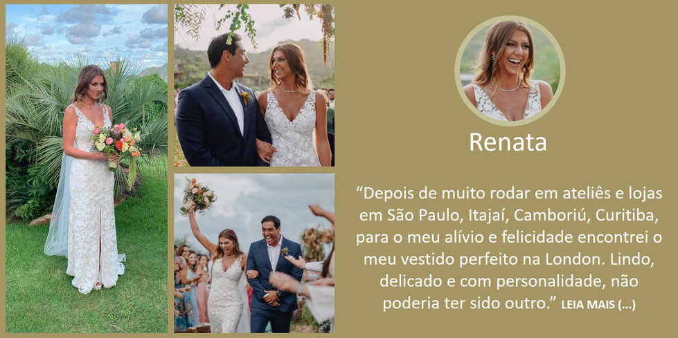 Depoimento Noiva Renata