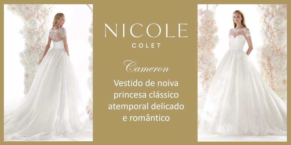 Cameron da coleção Nicole Colet