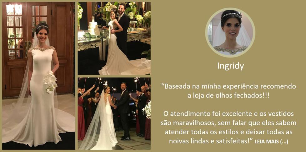 Depoimento Noiva Ingridy