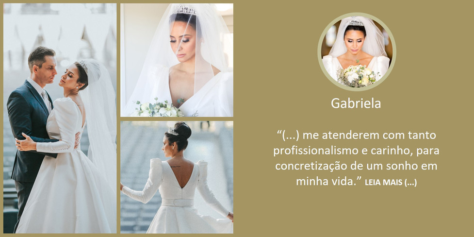 Depoimento Noiva Gabriela