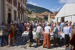 Fête du village à Clelles 2014