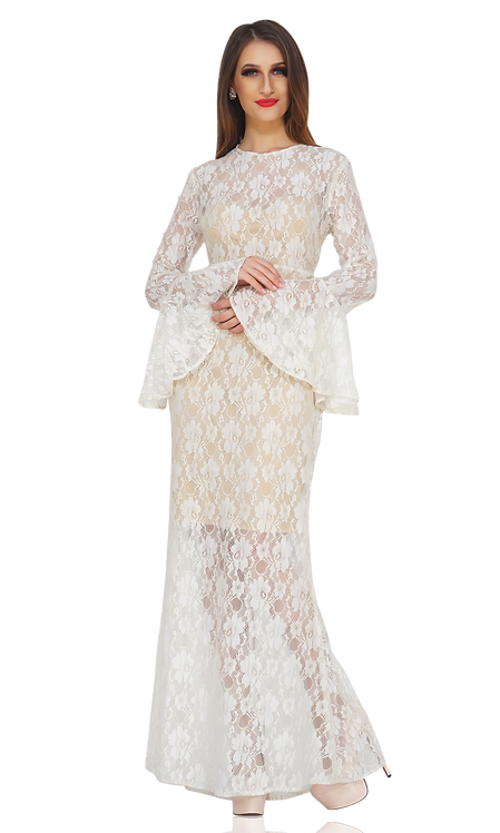 STYLE-48(WHITE NET GOWN)