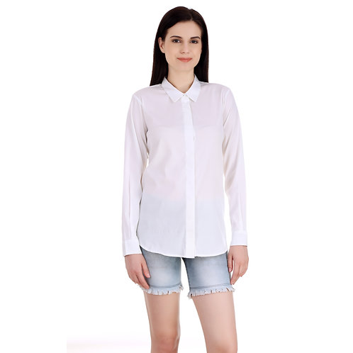 SELFreak-22 - Collared Neck Full Sleeves Button Down Casual Shirt