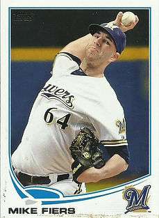 2013 Topps Mike Fiers