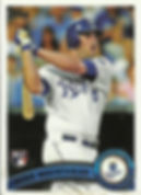Topps Mike Moustakas