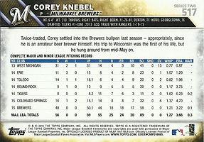 Topps Corey Knebel