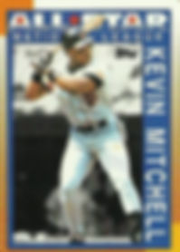 Kevin Mitchell Topps