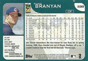 Topps Russ Branyan