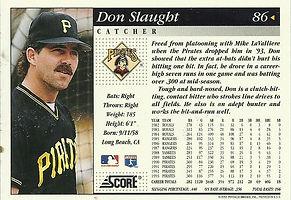 Score Don Slaught