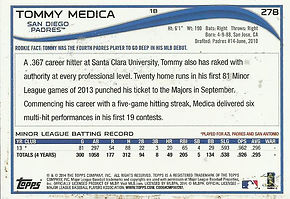 Topps Tommy Medica