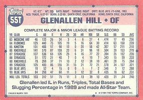 Topps Glenallen Hill