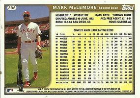 Topps Mark McLemore