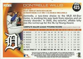 Topps Dontrelle Willis
