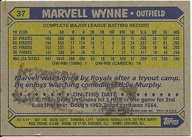 Topps Marvell Wynne