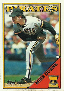 Topps Mike Dunne