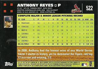 Topps Anthony Reyes