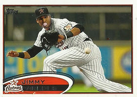Topps Jimmy Paredes