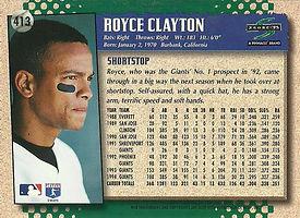 Topps Royce Clayton