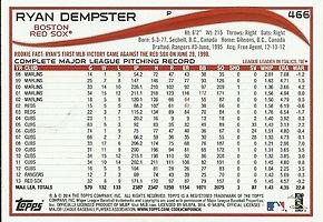 Topps Ryan Dempster