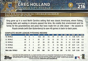 Topps Greg Holland