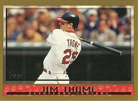 Topps Jim Thome