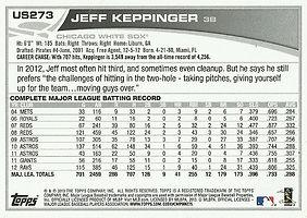 Topps Jeff Keppinger