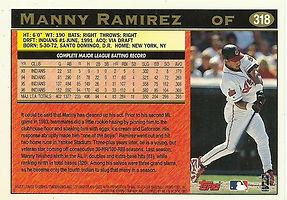 Topps Manny Ramirez