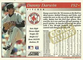 Score Danny Darwin
