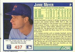 Score Jamie Moyer