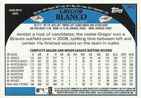 Topps Gregor Blanco