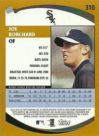 Topps Joe Borchard