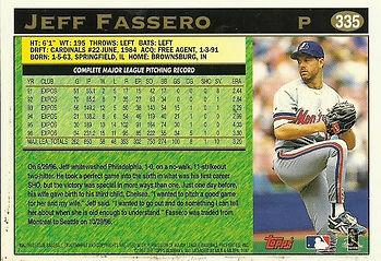 Topps Jeff Fassero